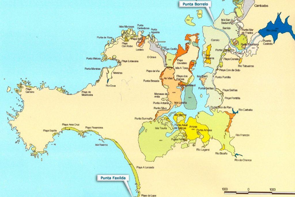 Mapa ámbito cofradia